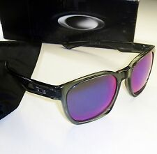 Oakley Garage Rock Sunglasses-Crystal Black Frame/+ Red Iridium Lens  9175-21