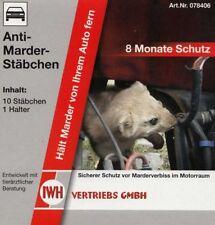 Anti-Marder-Stäbchen Marderabwehr Geruch Duftstäbchen Marderschutz Marderschreck