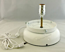New White Gas Pump Globe Lamp Stand Light Fixture - Ships Next Business Day