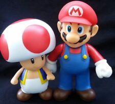 Super Mario Bros-2pcs/set- Mario,Toad, Collectible, Nintendo Action figure, gift