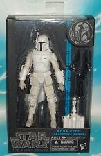 Star Wars BLACK SERIES 6 INCH BOBA FETT - EXCLUSIVE PROTOTYPE WHITE ARMOR FIGURE