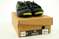 Pearl Izumi Race Road IV Boa Cycling Shoes, Black/Lime Punch, Size 41 / 8