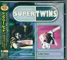 Simply Red Picture Book / A New Flame Japan CD w/obi Super Twins AMCE-3913/4