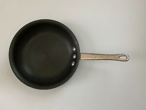 "Vintage Commercial Aluminum Cookware #1308 Anodized 8.5"" Skillet Calphalon USA"