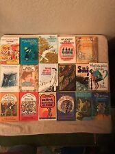 Vintage Weekly Reader Book Lot Encyclopedia Brown Blue Nosed Which Snip