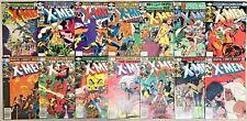 UNCANNY X-MEN#120-210 VG-VF LOT (28 BOOKS) MARVEL BRONZE AGE COMICS