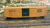 Athearn HO BB  50' Plug Door Boxcar Maine Central (MEC), Upgraded, Exc.
