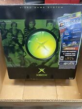 Original Xbox Console with Cords, 2 Controllers & 4 Games. Works!