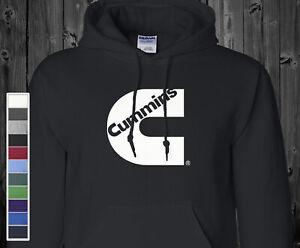 Cummins Hoodie Sweatshirt Diesel Engine Truck Driver Mechanic Hooded Sweater
