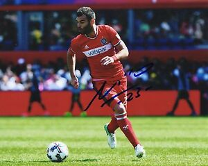Nemanja Nikolić Chicago Fire Signed 8x10 Photo BSC COA Autograph