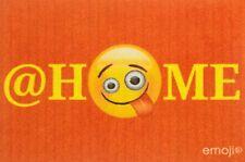 Fußmatte- emoji- At Home 60x40 cm Sauberlaufmatte, Türmatte, Fußabtreter, schmut