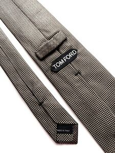 TOM FORD Tie Brown And Black Authentic 100%.  Silk 100%