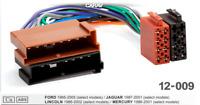 ISO DIN Kabel Radioadapter Adapter Stecker Radio passend  für MERCURY 1986-2001