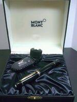 Montblanc Meisterstuck 149 Fountain Pen Piston Filler Black/Gold Plated