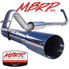 """MBRP S6200304 4"""" TURBO BACK DIESEL EXHAUST 99-03 FORD F250 F350 7.3L POWERSTOKE"""
