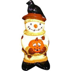 """Halloween 6.5"""" Vinyl Scarecrow DOG TOY"""