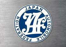 Japan automobile federation Sticker 7year vinyl  car jdm funny rude drift shift