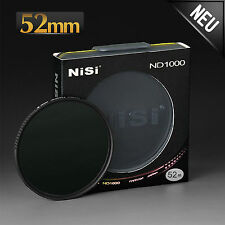 NiSi ND1000 Filter für alle Objektive Ø 52mm dünn Graufilter Schutzfilter
