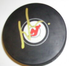 MARTIN BRODEUR NEW JERSEY DEVILS SIGNED HOCKEY PUCK w/ COA