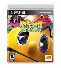 PAC-MAN AND THE GHOSTLY ADVENTURES (SONY PLAYSTATION 3, 2013) FREE SHIPPING!!!