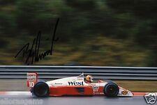 """F1 Driver Formula One Bernd Schneider Hand Signed Photo Autograph 12x8"""" AC"""