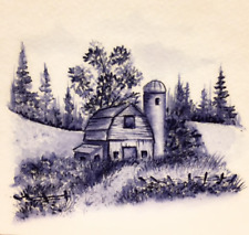 Silo Barn Retired (see photo #2&3) L@K@examples Art Impressions Rubber Stamps