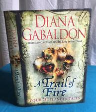 A Trail of Fire Diana Gabaldon Outlander HC DUST JACKET ONLY