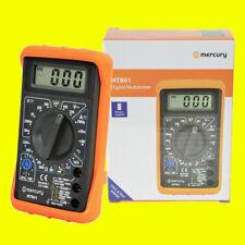 Mercury Digital LCD Multímetro Voltímetro Amperímetro AC DC Ohm Circuito Checker Prueba