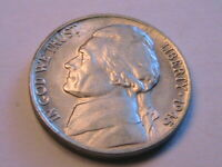 1945-P Jefferson 5C Nice AU Lustrous Silver War Nickel USA Five Cents WWII Coin