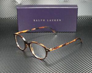 RALPH LAUREN POLO PH2047 5035 Brown Ylw Havana Demo Lens 48 mm Men's Eyeglasses