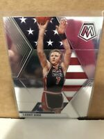 2019-20 Panini Mosaic USA Base #254 Larry Bird