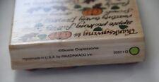Susie Capezzone 9562 Q rubber stamp