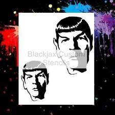 Mr Spock 01 Airbrush Stencil,Template