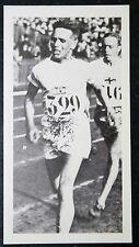 Finnish Middle Distance Runner     Paavo Nurmi   Photo Card    VGC