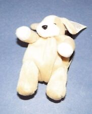 "New Pouch Pal Collectables Puddles The Puppy Plush  5""  Key Chain w/  Coin Purse"