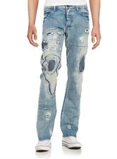 NWT Men's PRPS Goods Co Japan DANNO Barracuda Low Rise Jeans 32 x 34 $425