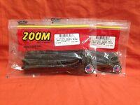 #113-004 Plum ZOOM Mag UV Speed Worm 8 cnt 2 PCKS
