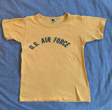 Vintage Stedman Air Force T Shirt Single Stitch Tube Knit Pe Shirt