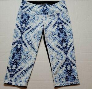 Victoria's Secret Leggings Capri Tie Dye Pants Women's Size Medium