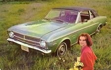 1967 FORD FALCON FUTURA SPORTS COUPE*YOU'RE AHEAD IN A FORD ALL THE WAY*POSTCARD