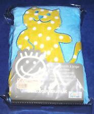 Housse de matelas à langer Baby Boum Youmi bleu