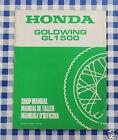 BB 67MN530Z Manuale Officina Honda Goldwing GL 1500 K stampa 88