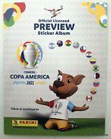 Copa America 2021 Preview Panini Trading Cards Full Album Complete unstick new