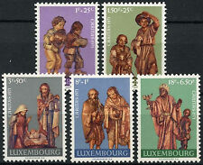 Luxembourg 1971 SG#880-4 Wood Carvings MNH Set #D1340