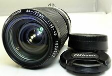 Nikon 35-105mm f3.5-4.5 Ai-S manual focus Lens (with one 2mm scratch)