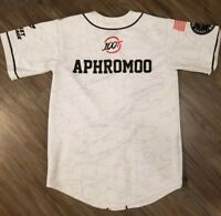 NEW 100 Thieves 100t 2018 Worlds Championship Jersey White Adult Large Aphromoo