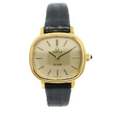 OMEGA De Ville Ladies Manual-winding Wristwatch Gold plated NR15660