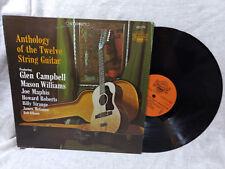 Anthology of the Twelve String Guitar LP V/A Glen Campbell Mason Williams NM