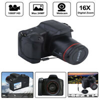 Digital Camera Slr 2.4 Inch TFT-LCD Camcorder HD 1080P Small 16X Zoom Black HOT