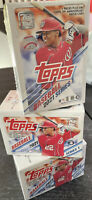 Topps 2021 Series 1 Baseball Trading Cards Blaster Box - 99 Total Cards